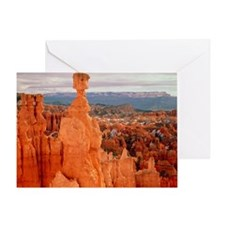Bryce Canyon in Utah - Greeting Card