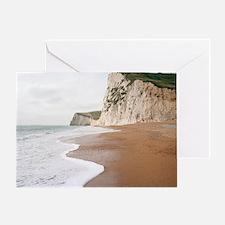 Chalk cliffs - Greeting Card