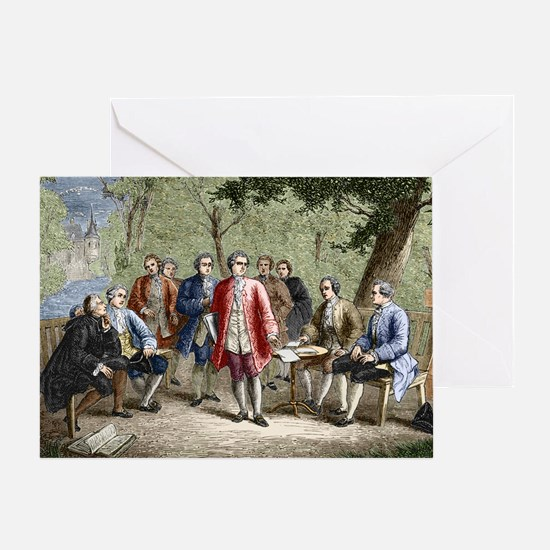 Charles de Secondat Montesquieu - Greeting Card