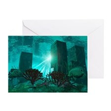 Drowned city - Greeting Card