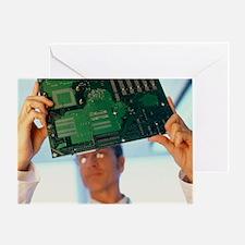 Electronics engineer - Greeting Card
