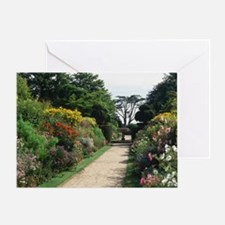 Herbaceous borders - Greeting Card