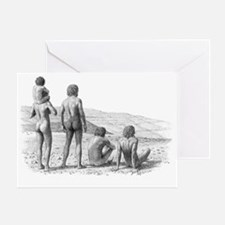Homo ergaster - Greeting Card
