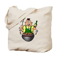 BBQ - Grill Tote Bag
