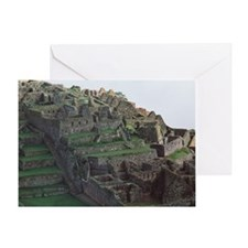 Machu Picchu - Greeting Card