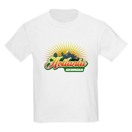 Hotlanta Georgia Kids Light T-Shirt