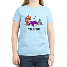 Cartoon Starfish by Lorenzo T-Shirt