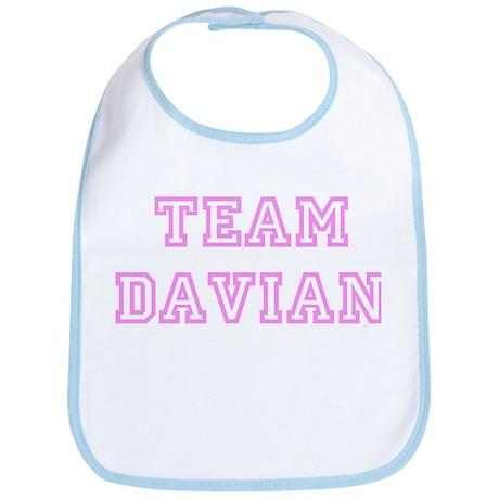 Pink team Davian Bib