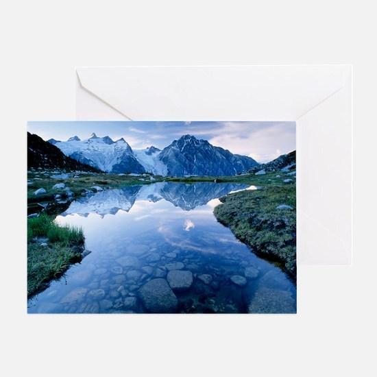 Mountain lake - Greeting Card