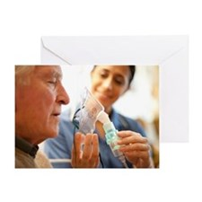 Nebuliser use - Greeting Card