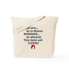 Redheads go Wherever Tote Bag