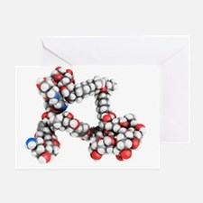 Palytoxin molecule - Greeting Card