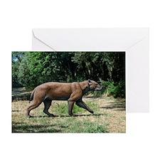 Prehistoric dog-bear, artwork - Greeting Card