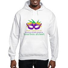 What Happens on Bourbon Street Hoodie