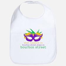 What Happens on Bourbon Street Bib
