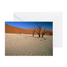 Sand dunes - Greeting Card
