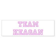 Pink team Keagan Bumper Bumper Sticker