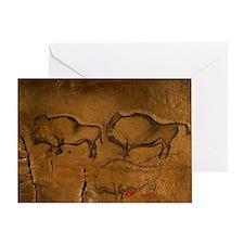 Stone-age cave paintings, Asturias, Spain - Greeti