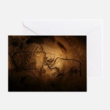 Stone-age cave paintings, Chauvet, France - Greeti