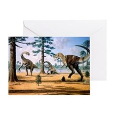 Tarbosaurus - Greeting Card