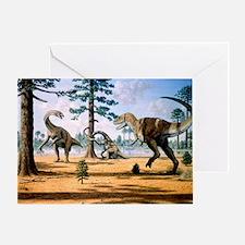 Tarbosaurus - Greeting Card