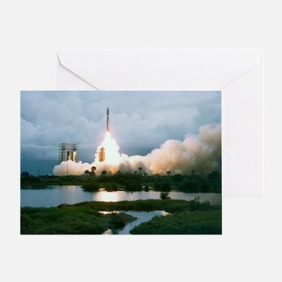 Viking 1 launch - Greeting Card