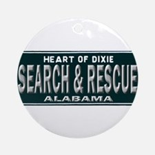 Alabama Search Rescue Ornament (Round)