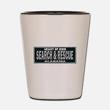 Alabama Search Rescue Shot Glass