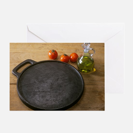 Cast iron skillet - Greeting Card