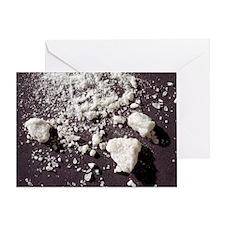 Ecstasy powder - Greeting Card