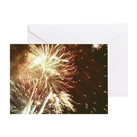 Firework display - Greeting Card