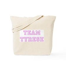 Pink team Tyrese Tote Bag