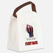 FIGHT BACK Canvas Lunch Bag