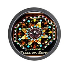 Peace on Earth! Photo! Wall Clock