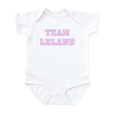 Pink team Leland Infant Bodysuit