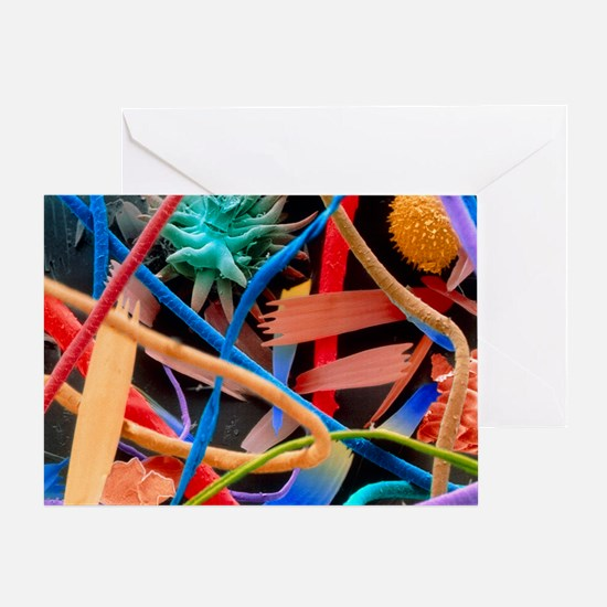 Household dust - Greeting Card