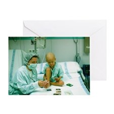 Leukaemia patient - Greeting Card