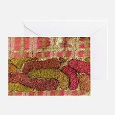 Mitochondria, TEM - Greeting Card