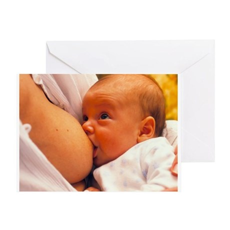 Mother breast-feeding her 3 month old baby boy - G