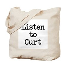 Listen to Curt Tote Bag