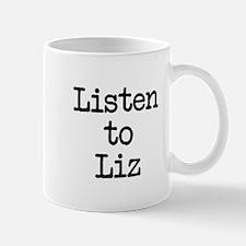 Listen to Liz Mug