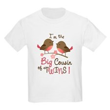 Big Cousin of Twins - Mod Bird T-Shirt