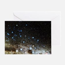 Centaurus and Crux constellations - Greeting Card