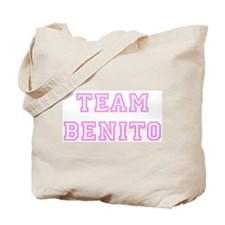 Pink team Benito Tote Bag