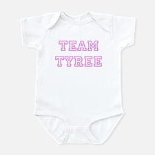 Pink team Tyree Infant Bodysuit