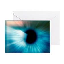 Human eye - Greeting Card