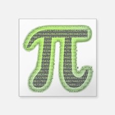 "Pi Square Sticker 3"" x 3"""