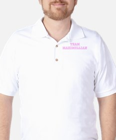 Pink team Maximillian T-Shirt