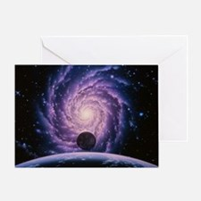 Milky Way galaxy - Greeting Card