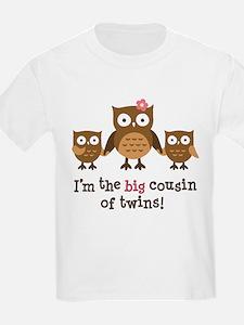 Big Cousin of Twins - Mod Owl T-Shirt